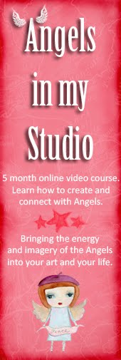 Angels in my Studio Online Course Promotion